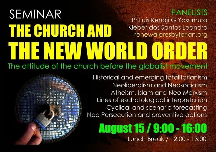 Seminario Nova Ordem Mundial EN