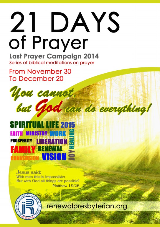 21 Days of Prayer 2014C Reduzido