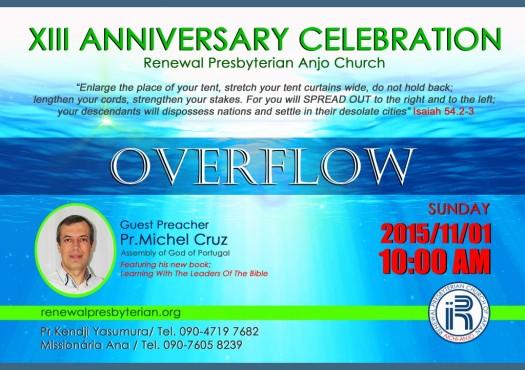 XIII Aniversario da Igreja EN Leve