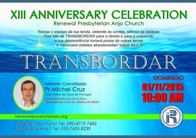 XIII Aniversario da Igreja PT Leve