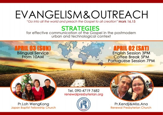 Evangelism and Outreach April 2016 Leve