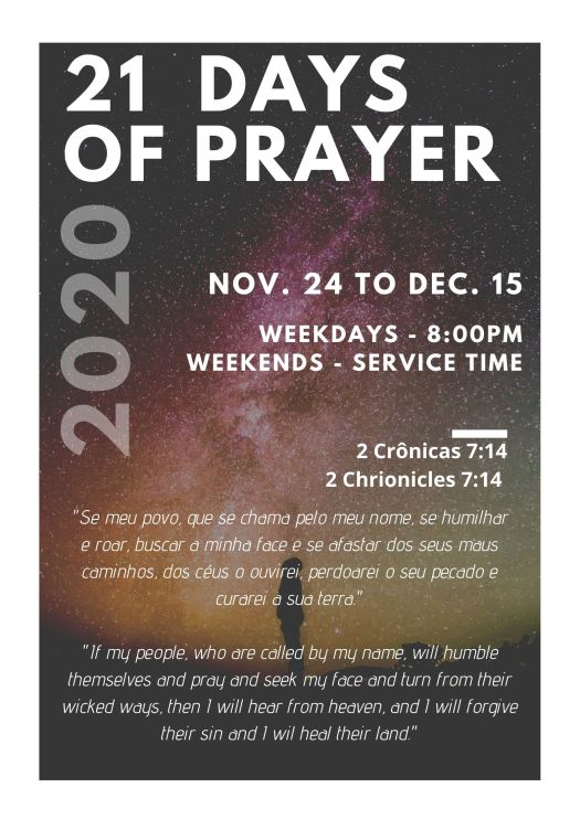 21 Days of Prayer 2020